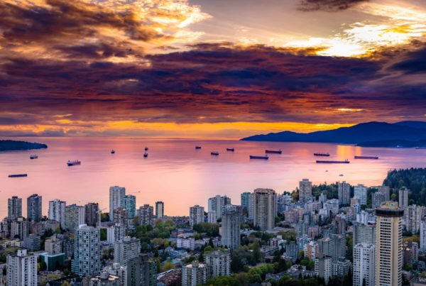 Vancouver at sunset KO Strategy