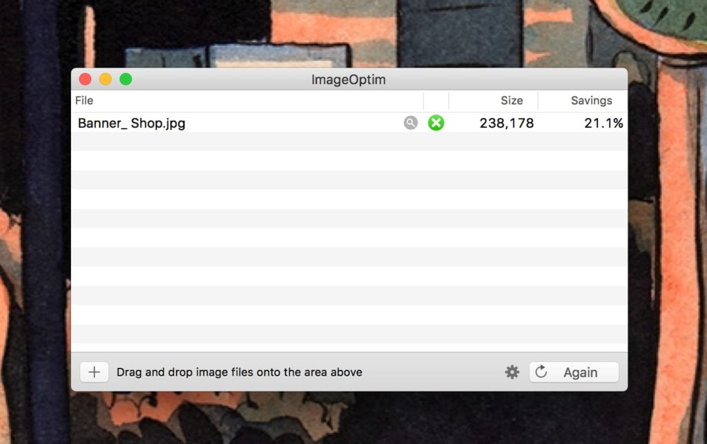 Optimize Images with ImageOptim